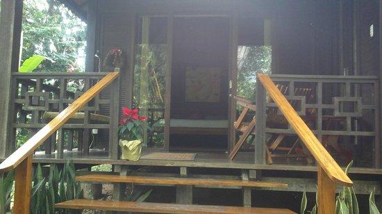 Bali Rica Casitas: Entrada a Casa Rica