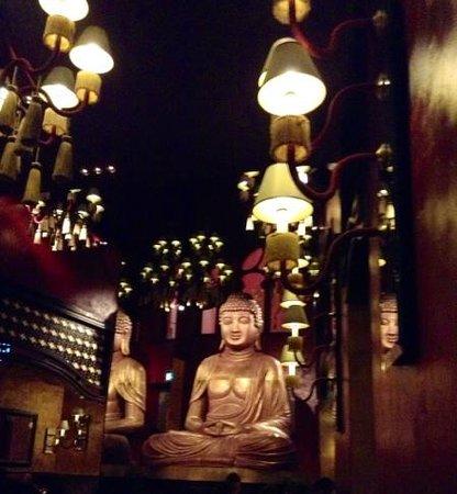 Buddha-Bar Hotel Budapest Klotild Palace : the restaurant