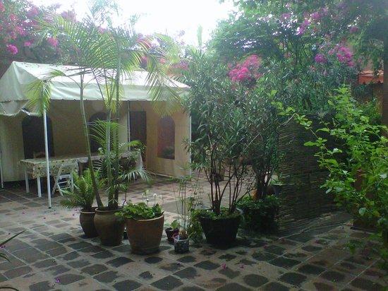 Hostal Casa del Sol Oaxaca: Vista del comedor