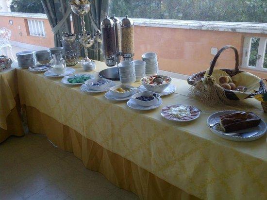 Villa Paradiso dell'Etna: Buffet colazione