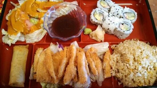 Misu Sushi Asian: Bento lunch special $11!