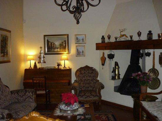 Centre-Ville Guest House : lobbi