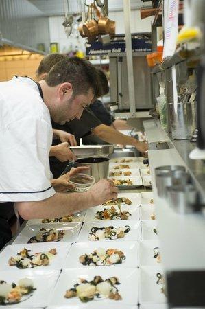 SEb L'Artisan Culinaire : équipe en cuisine