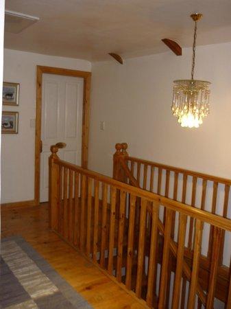 Centre-Ville Guest House: l'escalier d'étage