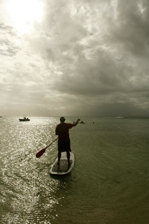 Leleuvia Island Resort: Paddle Board