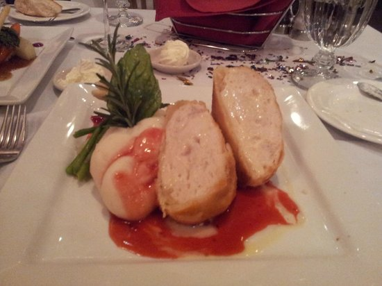 Joseph's Fine Dining : Pureed fish with cream chees and stuffed into a pastry. Excellent!