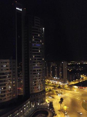 Sercotel Sorolla Palace Hotel: Vistas de noche