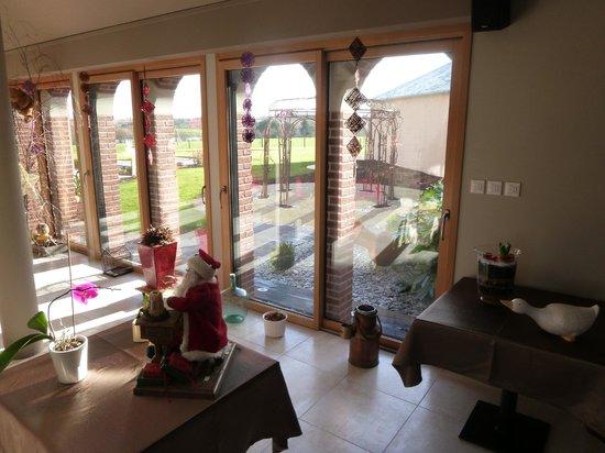 Maison d'hotes du Blavon: Vue du salon