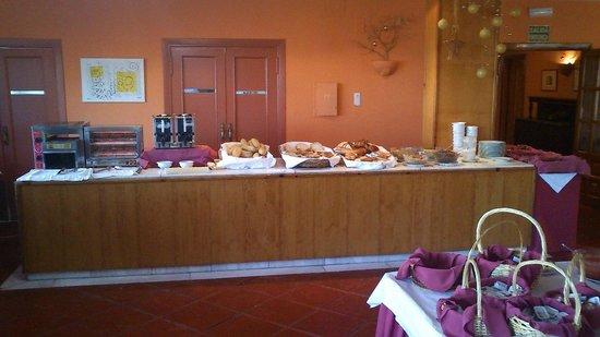 Vita Santa Cruz: Desayuno