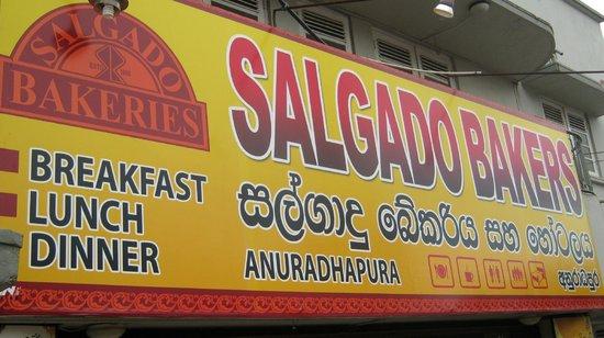 Salgado Hotel & Bakery: out front