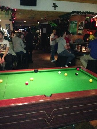 The Woolshed: good music, pool table and cold beer