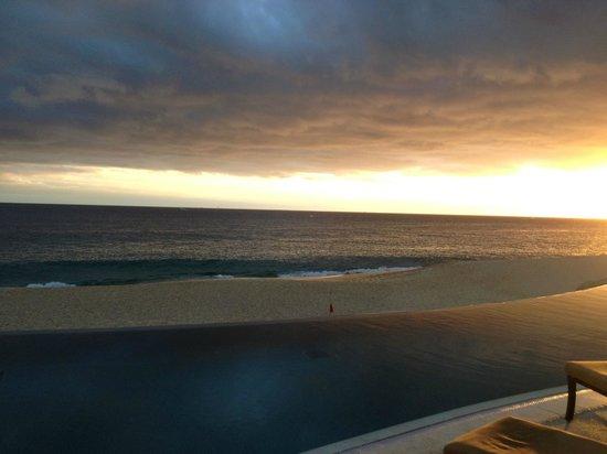 جراند سولمار لاندز إند ريزورت آند سبا: Sunset over the ocean 