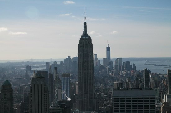 Custom & Private New York Tours Inc: Top of the Rock view