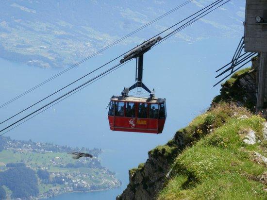 Mount Pilatus: Panorama Gondola