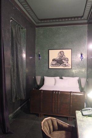 Villa Makassar: une chambre