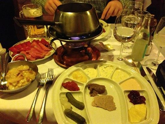 Stockhorn Grill: fondue