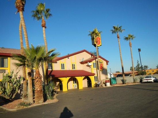 Super 8 Goodyear/Phoenix Area: exterior