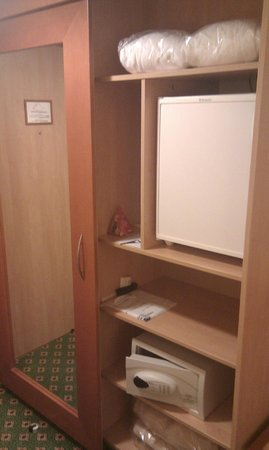 Danubius Health Spa Resort Helia: Cloth storage