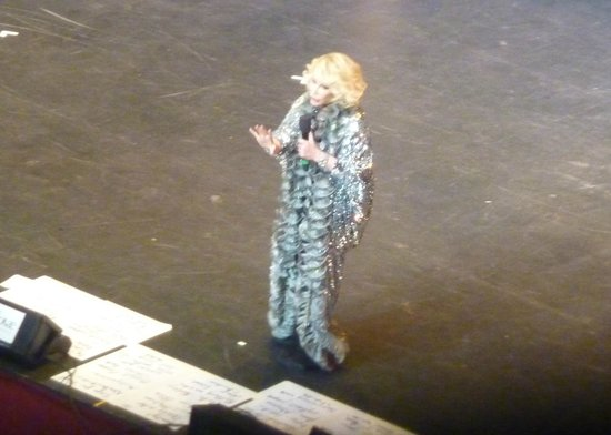 Royal Albert Hall: Joan Rivers from the circle!