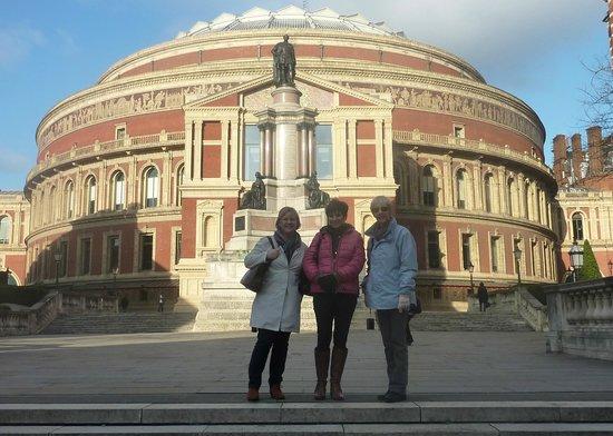 倫敦皇家艾伯特演奏廳照片