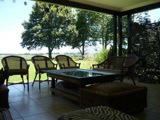 KarMichael Farm Guesthouse: veranda
