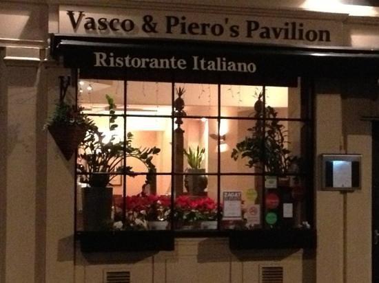 Vasco & Piero's Pavilion Restaurant : ingresso ristorante.