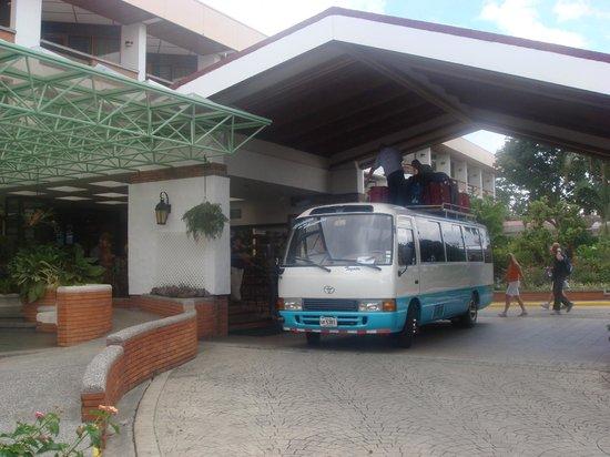 Hotel Bougainvillea: Vista del Hotel