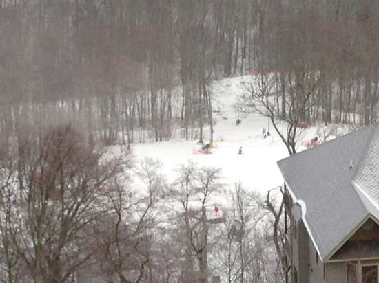 Sugar Mountain Resort: View of slopes from our Reserve II condo.