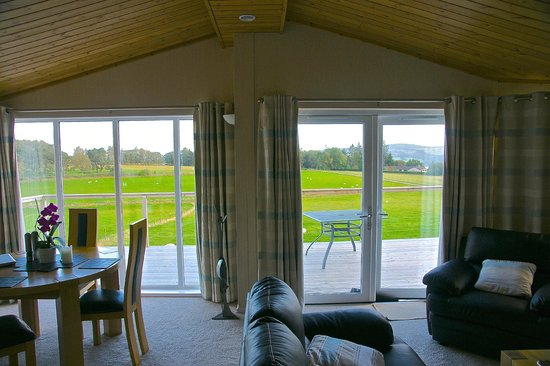 Kessock Highland Lodges: View from interior