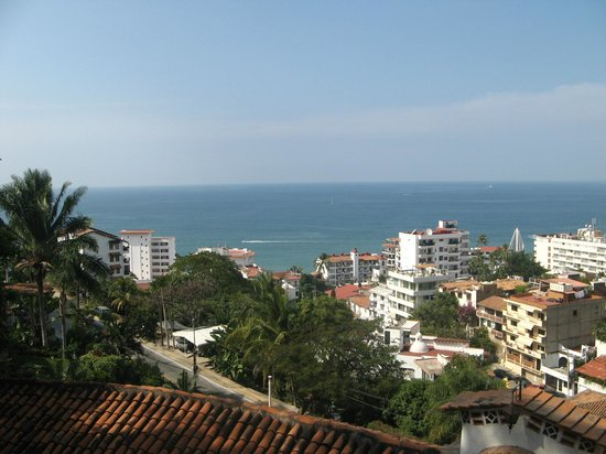 Casa Panoramica: view of the bay from 4th floor terrace