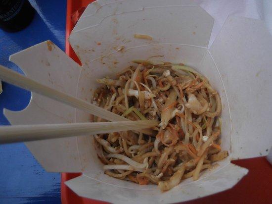 Wok to Walk: Egg noodles
