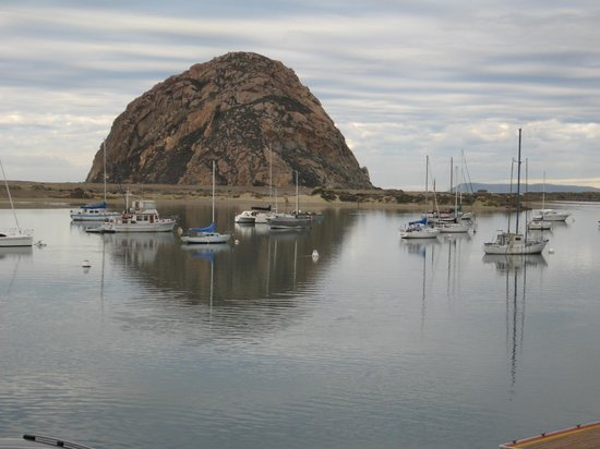 Estero Inn: our view from the Morro Rock Suite