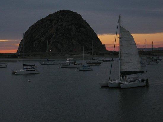 Estero Inn : sunset from the Morror Rock Suite