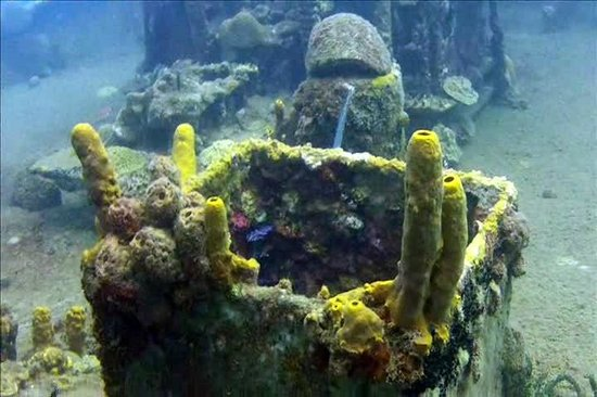 Coco Palm Resort : Plongée sur l'épave du Lesleen. B.