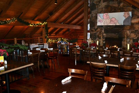 Bohemian Brewery Grill Upper Dining Area