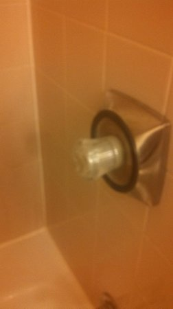 Hyatt Regency Reston: WORN OUT BATH KNOB