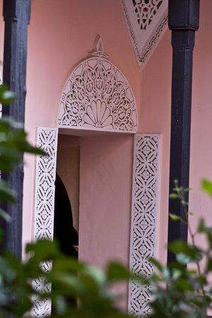 Riad Dar Tamlil : The Morrocan detailing shown throughout the Riad