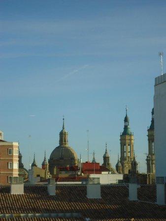 Hotel Oriente: ameneció un dia precioso y azul
