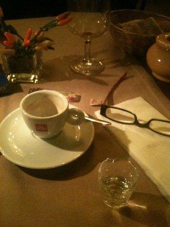 Restaurant Amaia : café