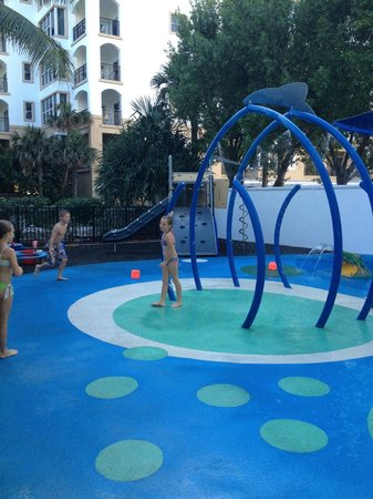 Marriott's Ocean Pointe: Kids water park at Ocean Pointe
