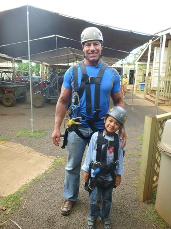 Koloa Zipline: can't wait to do it again!