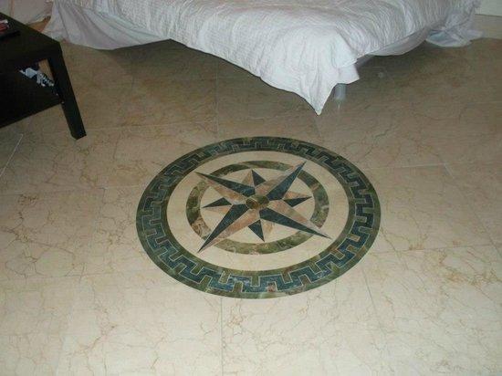The Fritz Hotel: floor in rooms 