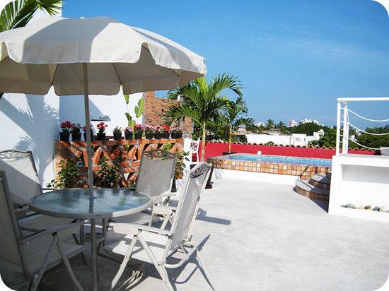 La Iguana de Oro: El descanso en la terraza