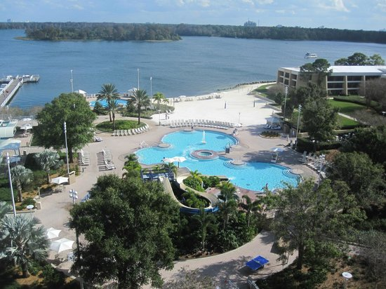 Disney's Contemporary Resort: View from the 8th floor
