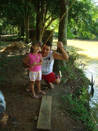 Hotel Fazenda Campo dos Sonhos: pescaria