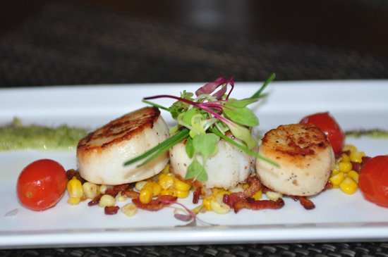 Loondocks Restaurant: Scallops