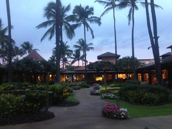 ‪‪Sheraton Kauai Resort‬: grounds at the Sheraton