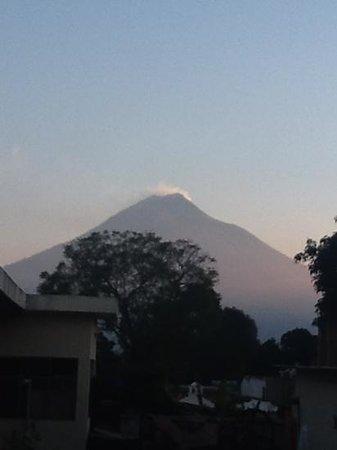 Guest House Los Arcos : Volcano