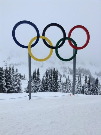 Whistler Blackcomb: Site of the 2010 Winter Olympic skiing competition