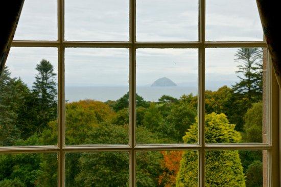 Glenapp Castle: Ailsa Craig